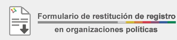 Logo restitución militante